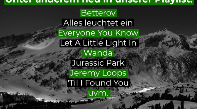 Neues von Betterov, Everyone You Know, Wanda, Jeremy Loops,…